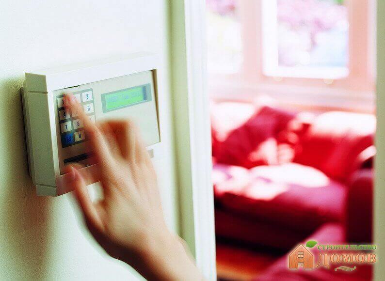 Элементы охранной сигнализации для дома