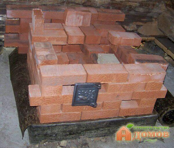 Строим печь-каменку своими руками