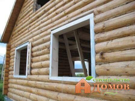 Окосячка в деревянном доме: виды, установка