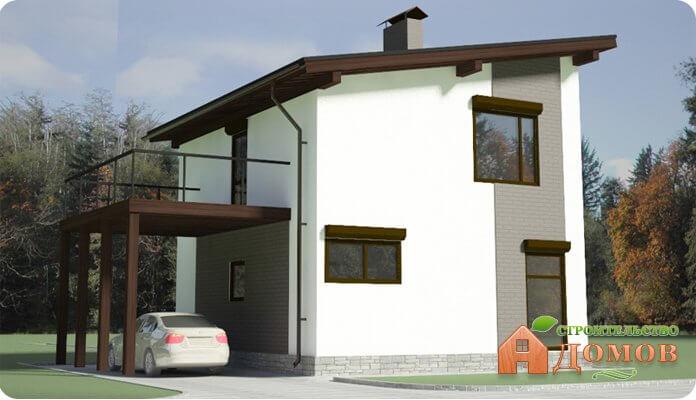 Односкатная крыша своими руками: угол наклона, процесс строительства