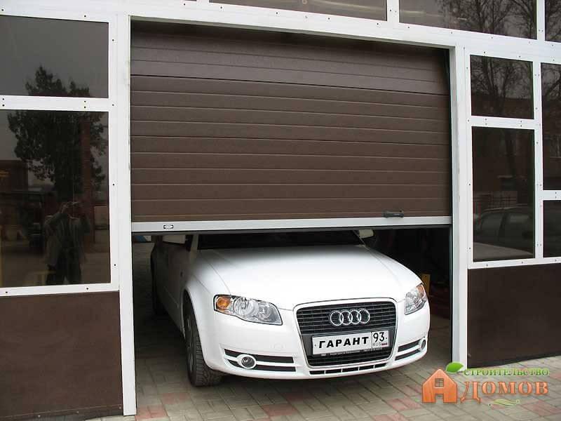 Рольворота для гаража: принцип работы, преимущества и недостатки
