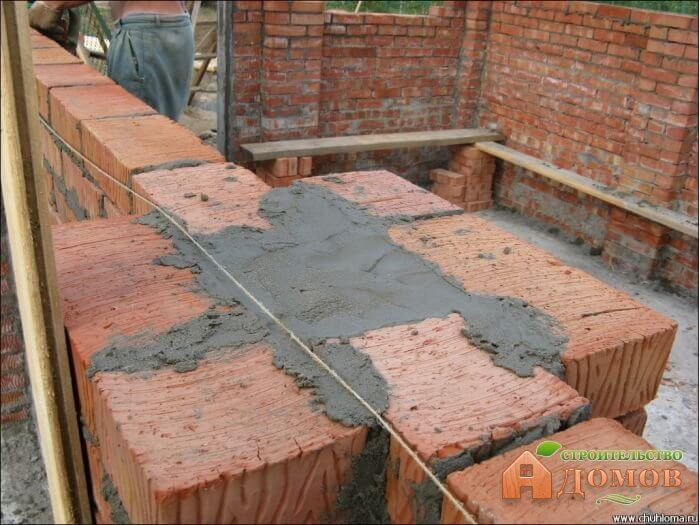 Толщина стен гаража