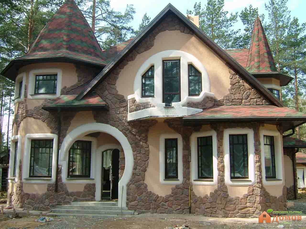 Декоративная облицовка фасада: её разновидности и материалы