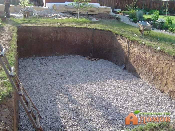 Фундамент бассейна: поэтапный процесс изготовления