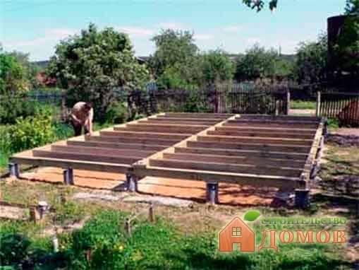 Мелкозаглубленный столбчатый фундамент: этапы строительства