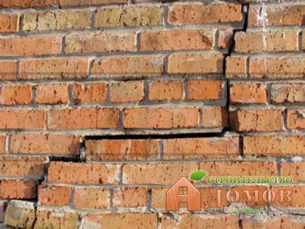 Трещина в стене кирпичного дома: как с ней справиться?