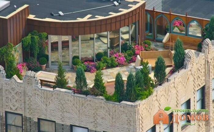 Зимний сад на крыше: технологические и конструктивные решения
