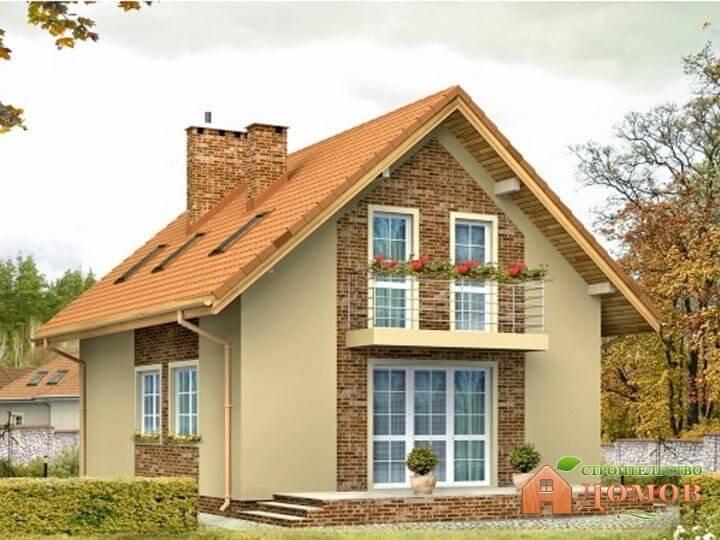 Площадь двускатной крыши: пример расчета