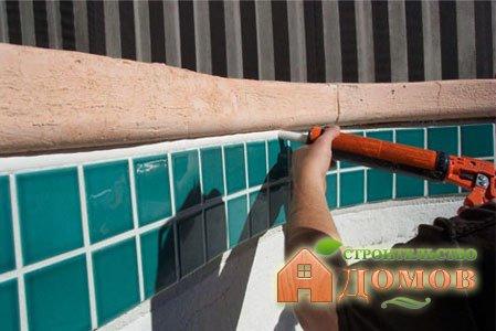 Герметик для бассейна – его разновидности