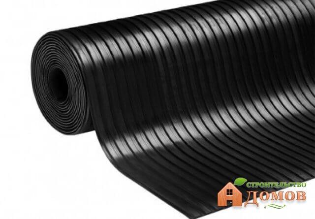 Резиновое покрытие для пола гаража. Его разновидности и характеристики