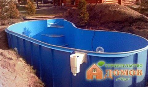 Пластиковая чаша для бассейна: её преимущества и эксплуатационные свойства