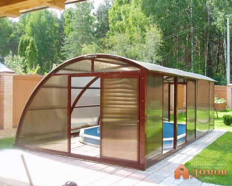 Строительство крытого бассейна. Этапы работ