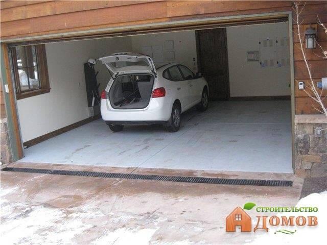 Какой пол лучше для гаража?