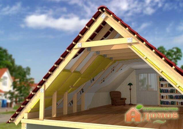 Технология мансардных крыш. Как правильно их обустроить?
