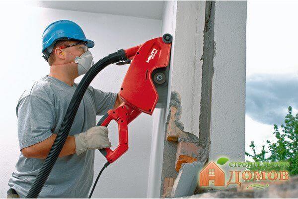 Демонтаж бетонных стен: правила выполнения, необходимые инструменты