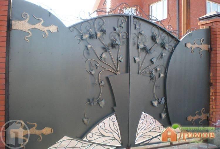 Ворота для загородного дома. Их виды и особенности