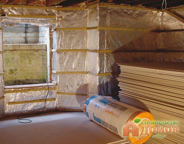 Утепление подвала деревянного дома  — материалы, технология
