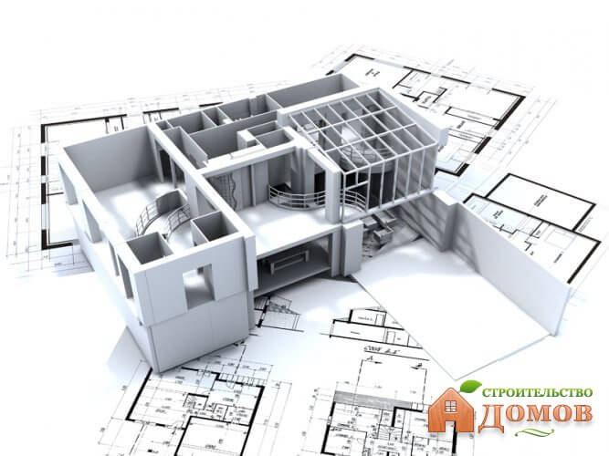 Проект дачного каркасного дома КД-16 каркасный дом