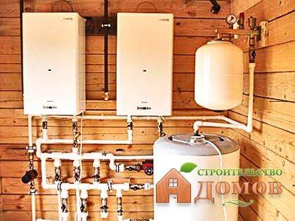 Теплоснабжение загородного дома: система автономного отопления