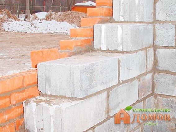 Стены из ячеистого бетона. Характеристики материала