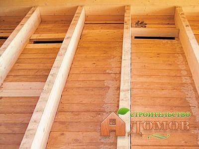 Делаем полы в деревянном доме: черновой и чистовой полы