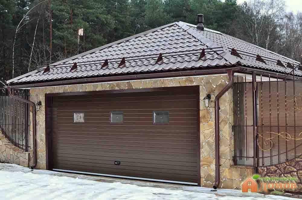 Материал для крыши гаража: обзор каждого