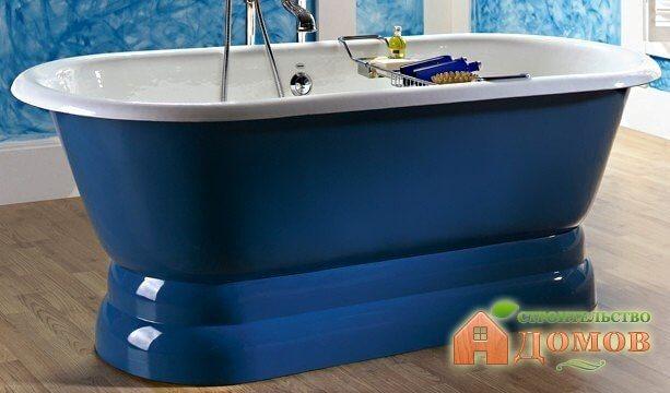 Пьедестал для ванны: интерьерное решение, способ монтажа