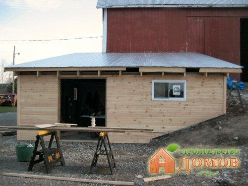 Как поднять крышу гаража и сам гараж? Существует несколько способов