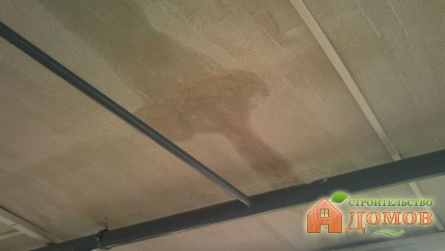 Течет крыша гаража — что делать?
