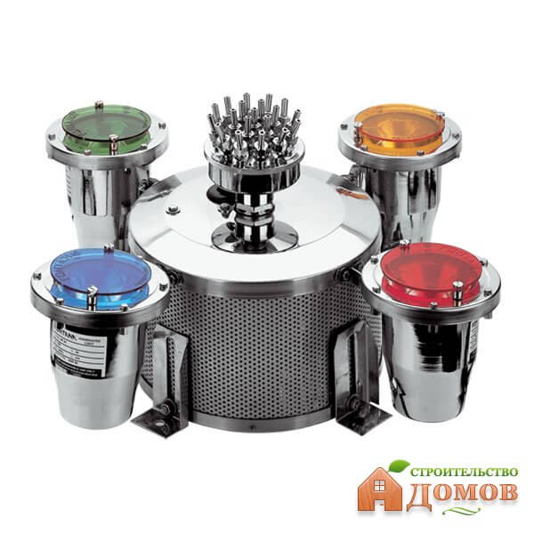 Оборудование для фонтанов: насосы, помпы, подсветка