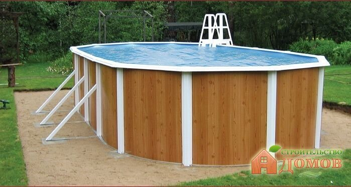 Сборный каркасный бассейн. Его разновидности, отличия