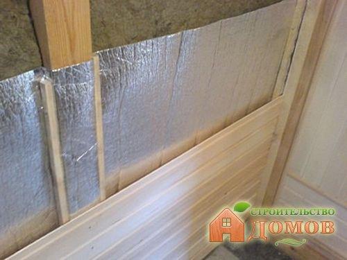 Утепление каркасной бани: материалы, процесс монтажа