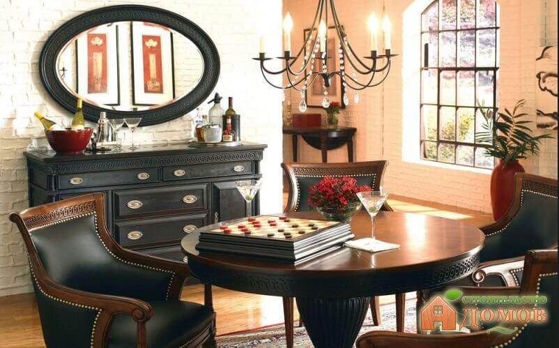 Интерьеры гостиных в английском стиле: характерные черты стиля и мебели