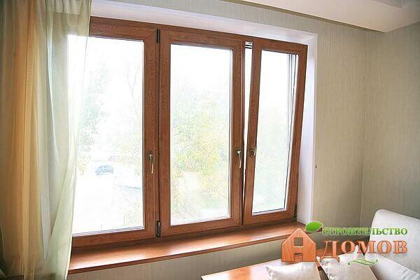 Отделка откосов деревянных окон: материалы, технологии
