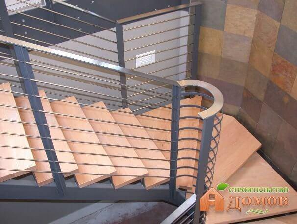 Размеры ступенек лестницы