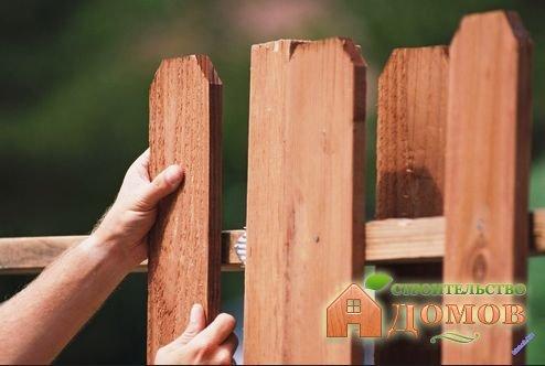 Расстояние между домом и забором СНиП