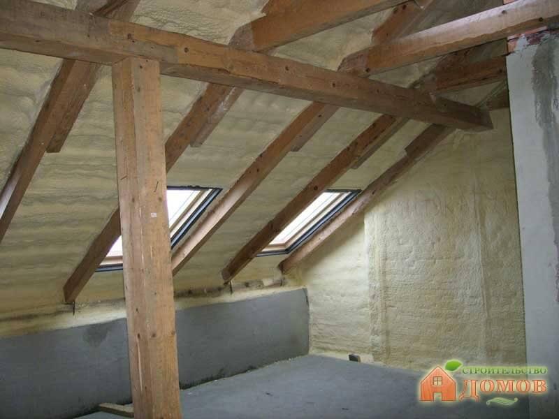 Как утеплить мансардную крышу? Выбор материала, последовательность работ
