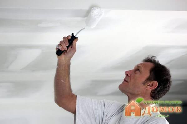 Краска для потолка из гипсокартона. Разновидности, особенности каждой