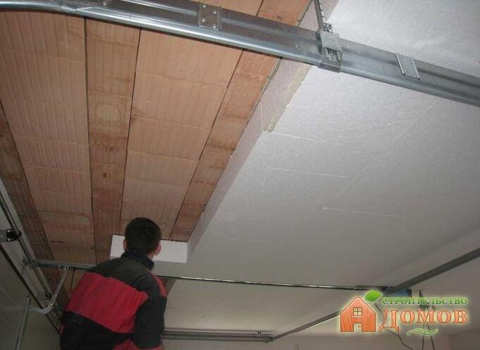 Утепление потолка в гараже. Материалы, способы