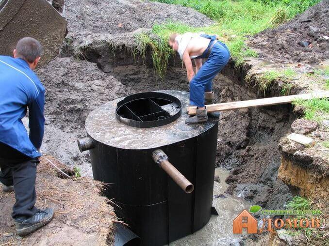 Установка канализации в доме: внутренней и наружной