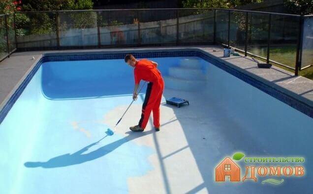 Гидроизоляция бассейна: материалы