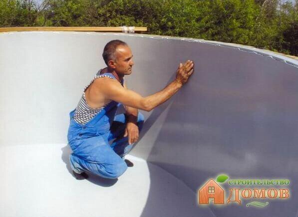 Гидроизоляция бассейна изнутри: требования, технологии, материалы