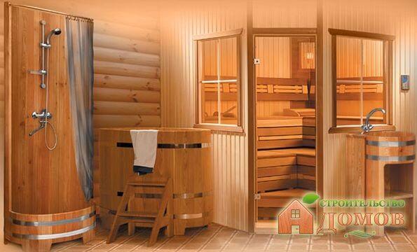 Моечная в деревянной бане: её размеры, отделка, водоснабжение