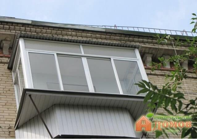 Как сделать вынос балкона?