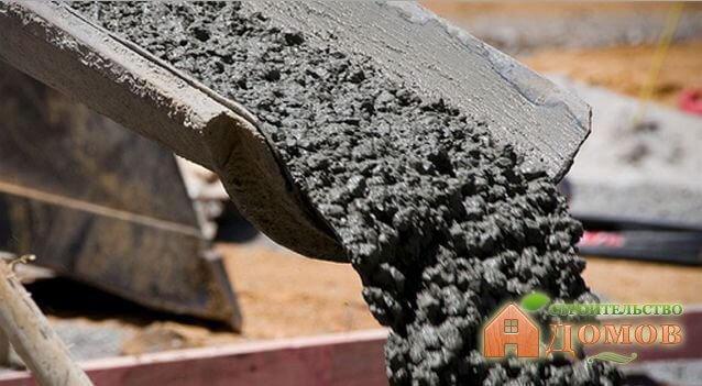 Расчет цемента на куб бетона для фундамента, стен, облицовки