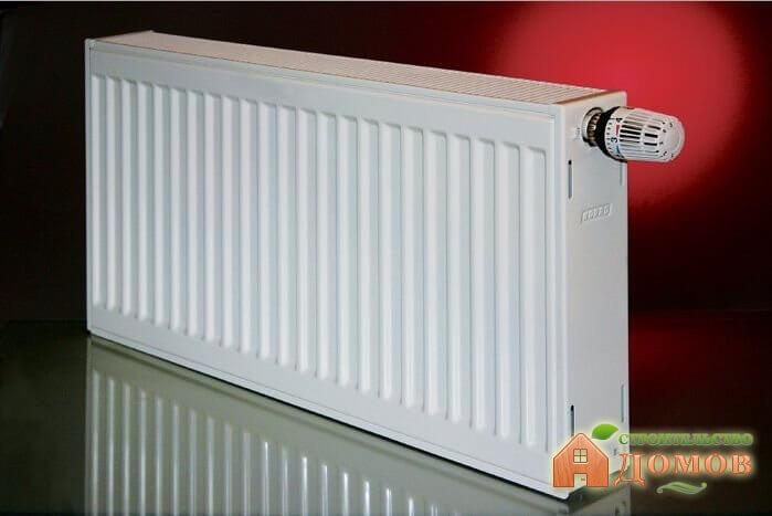 Панельные стальные радиаторы отопления: их преимущества и недостатки, способы подключения