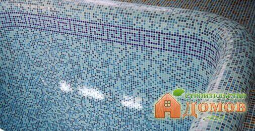 Облицовка бассейна мозаикой. Варианты и пошаговый процесс отделки