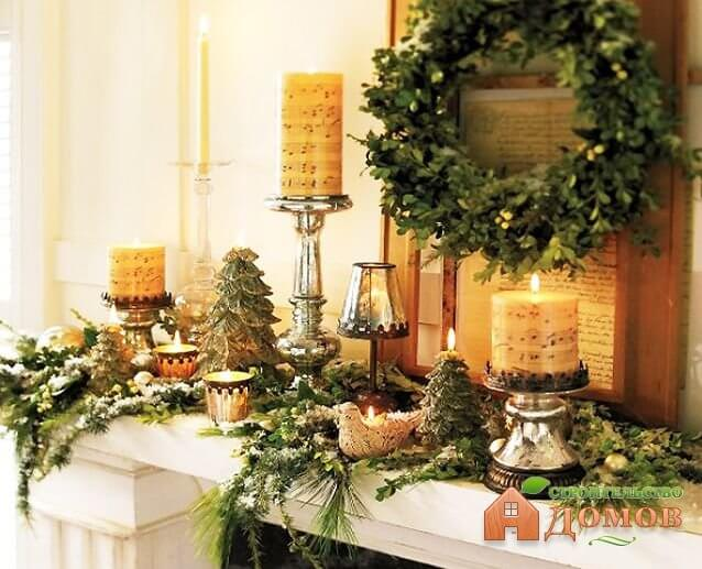 Украшение дома на новый год. Часть 1 – цветовая гамма, наряженная ёлка