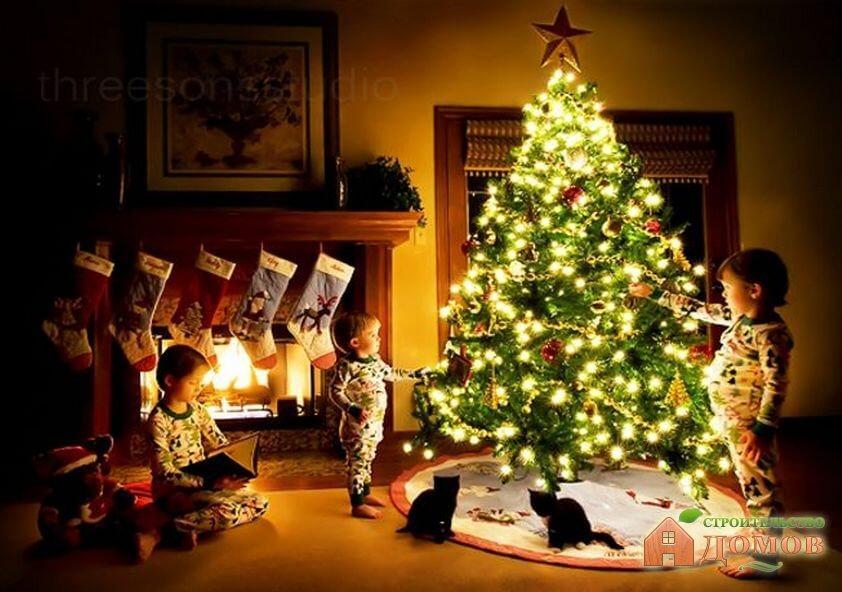 Украшение дома на новый год. Часть 2 – новогодняя атрибутика