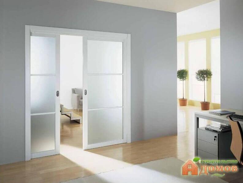 Межкомнатные двери с матовым стеклом: разновидности, преимущества, выбор